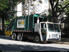 Waste Management 360360 (TheTransitCamera) Tags: trash truck garbage collection waste recycle removal