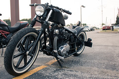 (nikidabrowski) Tags: blue light 2 hot cars canon photography rebel photo natural muscle top august highland motorcycle yamaha rods niki lightroom 2014 dabrowski t5i