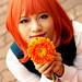 Haruka-chan and flower