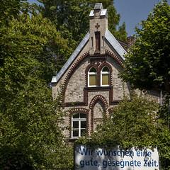 Good Wishes (L I C H T B I L D E R) Tags: cologne köln wishes wünsche rodenkirchen stmaternus rheinbogenkirche