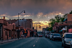 Santa Fe evening (JoLoLog) Tags: sunset usa newmexico santafe architecture route66 roadtrip raya nm lorien oldroute66 canon6d oldworldarchitecture