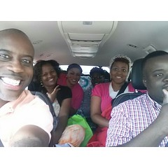 The Made New crew rolling to Glass City!  These some crazy folk!