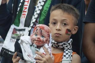 Stop war in Gaza - solidarity from Wrocław