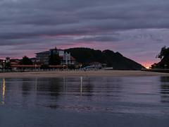 Ribadesella (TerePedro) Tags: sunset espaa night atardecer spain cloudy asturias puestadesol ribadesella