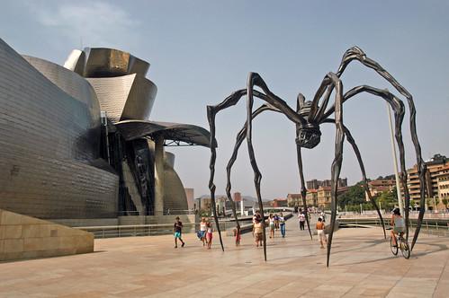 "ES Bilbao - Guggenheim Museum Bilbao - Louise Bourgeois ""Maman"""