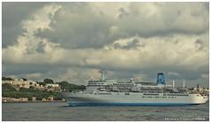 Cruise ships (Rhannel Alaba) Tags: cruise turkey nikon ships istanbul bosporus d90 pido alaba rhannel