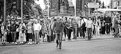 Leader of the Pack (D.J. De La Vega) Tags: street 50mm scotland nikon df edinburgh g candid f18