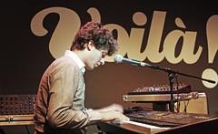 Byron Bay @ Voilà! Cafè-teatre (Manresa) 04-07-2014 (oriolsalvador) Tags: music tour folk piano pop musica electronica keyboards pianist electronic gira byronbay voilà voila bbsp voilàcafèteatre voilamanresa voilacafeteatre