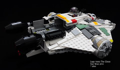 Star Wars Lego 75053 The Ghost (KatanaZ) Tags: starwars lego stormtrooper theghost herasyndulla kananjarrus lego75053 zeborrelios