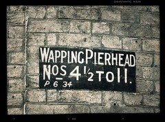 Address And A Half (dhcomet) Tags: brick london 11 address wapping pierhead 412
