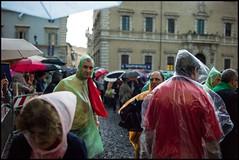 Rain (Sapient Iguana) Tags: rain weather raining raincoat poncho plasticraincoat plasticponcho lucianlanteri