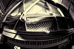 my_baby_grand_DxO (peterjcb) Tags: music baby ed piano grand fisheye if smc f3545 1017mm pentaxda