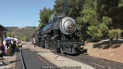 2014 - SP 2472 At the Station.. (Robert Gadsdon) Tags: steam preserved baldwin southernpacific 2014 2472 nilescanyonrailway sunolstation