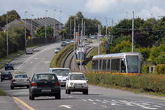 Catherine Tynan Road (eigjb) Tags: road ireland light red dublin irish transport tram rail railway august system line catherine transit heights luas rapid tynan kingswood 2014 tallaght