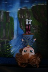 Blythe A Day 17 August 2014 - Upside down