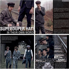 My work for SuperDuper Hats in Uomo Moderno magazine (travelight) Tags: look fashion published hats style camo editorial menswear lookbook uomomoderno aw14 superduperhats