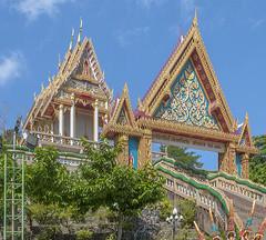 Wat Khao Rang Ubosot and Gate (DTHP0540) วัดเขารัง อุโบสถ และ ทรวาร