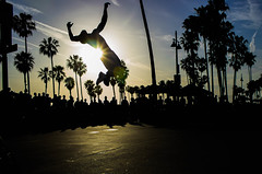 Falling (timmydisme) Tags: street sunset beautiful dance falling flip venicebeach