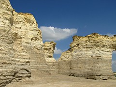 Monument Rocks of Kansas #26 (jimsawthat) Tags: sky rural erosion kansas geology highplains monumentrocks chalkpyramids