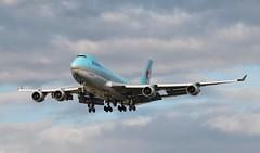 HL7403 Boeing 747-4B5F Korean Air Cargo (R.K.C. Photography) Tags: uk aircraft cargo boeing lhr airliners freighter b747 koreanair egll londonheathrowairport 7474b5f hl7403 canoneos1100d