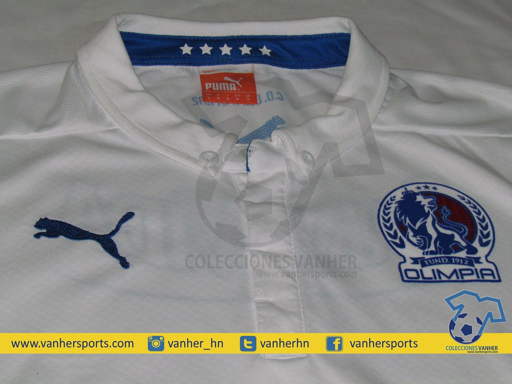 0cde51b5dfbf79 Camiseta CD Olimpia 2014 Local (vanherhn) Tags: cd honduras jersey puma  camiseta 2014