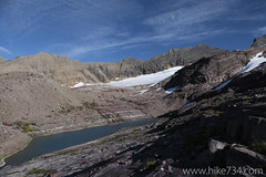 """Tarn below Sperry Glacier • <a style=""""font-size:0.8em;"""" href=""""http://www.flickr.com/photos/63501323@N07/15045660618/"""" target=""""_blank"""">View on Flickr</a>"""