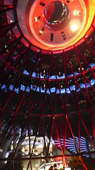 Top of the Gherkin (Erik Hartberg) Tags: 30stmaryaxe thegherkin searcys
