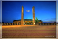 Olympia Stadion (Pinky0173 (thrun-fotografie.de)) Tags: berlin canon germany dri hdr olympiastadion blauestunde pinky0173