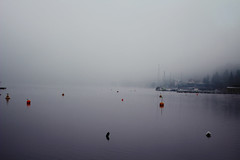 waiting for you (nosypirate) Tags: lake austria earlymorning backpack veldenamwrthersee