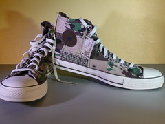 Chucks (Oli-unterwegs) Tags: new boy man shoe star shoes all sneakers camo camouflage converse taylor sneaker chuck mann schuhe chucks neu schuh turnschuhe tarnung basketballschuh