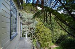 Balcon de notre premier appart à Wellington