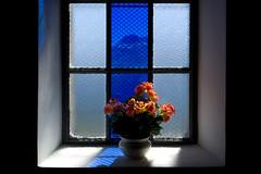 flowers in front of the window (Toni_V) Tags: flowers window schweiz switzerland europe suisse rangefinder chapel svizzera wallis valais m9 kapelle 2014 svizra oberwallis summiluxm 50lux kapellemariazumschnee ©toniv leicam9 140913 50mmf14asph alpnessel l1018699 blattenbelalpfoggenhornbrig