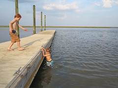 goingbackhelp (babyfella2007) Tags: ocean county boy summer sky playing jason sc nature water swimming swim river carson children outside outdoors coast living pier fishing dock jasper child natural grant south tide low country salt young southern coastal taylor carolina marsh broad beaufort tidal lowcountry ridgeland