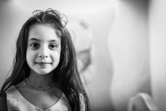 Girl Birthday-24 (Hani*) Tags: birthday portrait bw white black girl kids canon lens photography 50mm prime shot shots 50 ruleofthirds