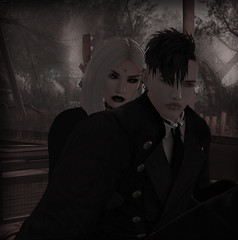 Forever (Twisted_Graphics) Tags: catwa maitreya secondlife secondlifeart couple love loyal together art avatar avi dark gothic goth
