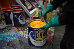 Mixing (Always Hand Paint) Tags: mixingmixing ooh outdoor colossalmedia alwayshandpaint skyhighmurals advertising colossal handpaint mural muraladvertising