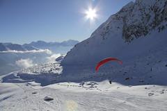 Gleitschirm-Winter-Fiescheralp (aletscharena) Tags: aletscharena aletschgletscher feelfree gleitschirm gleitschirmfliegen naturpur schweiz unescowelterbe wallis winter aletschgletscherunescowelterbeschweizeralpenjungfraualet befreiend