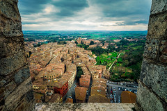 A window into Siena (Arutemu) Tags: europe italy italia italien ilcea7r ilce italian city cityscape siena sigma 1224 medieval renaissance view ville vista wideangle toscana torredelmangia tower town tuscany tuscan