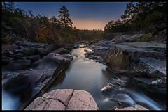 Sunrise Over the Castor River Shut-Ins - Amidon Memorial Conservation Area (Nikon66) Tags: castorrivershutins amidonmemorialconservationarea shutin pinkgranite madisoncounty missouri nikon d800 1424mmnikkor