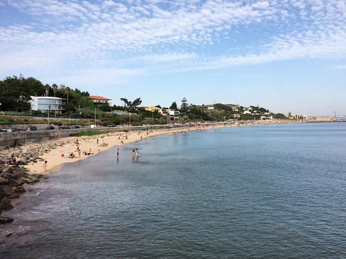 Praia de Caxias #portugal #beach #summer #caxias #lisbon #ocean #☀️️