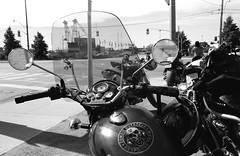Zombie Outbreak Response Team (Georgie_grrl) Tags: distinguishedgentlemansride motorcycles bikers riders fundraiser charityride dapper dressedtoimpress friends blackandwhite monochrome andalotofchrome jchstreetpan400 toronto ontario pentaxk1000 rikenon12828mm zombieoutbreakresponseteam theyrecomingtotorontosoon andthenmaybemontrealjustforjoann