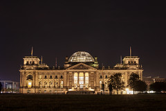 Reichstag, Berlin, Germany (ajayem) Tags: flikr travel photography canon canon60d sigma35mm sigma35art reichstag government germany deutscshland berlin sommer summer fall autumn longexposure night