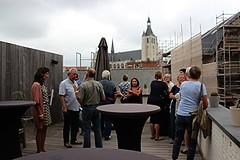 dakterras Breckpot - Hof van Cortenbach (mechelenblogt_jan) Tags: openmonumentendag mechelen breckpot korenmarkt hofvancortenbach olvoverdedijlekerk rudivanpoele