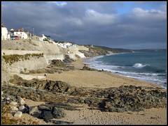 Porthleven Beach Cornwall. (marj.p. (Catching up!!)) Tags: cornwall porthlevencornwall coastal coastalphotography holiday cornwallengland fujifilmfinepixhs50 waves octoberholiday
