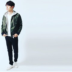 October 25, 2016 at 04:04PM (audience_jp) Tags: ma1 fashion sputnicks    ootd  japan style kouenji     olive  tokyo madeinjapan blouson audience