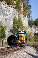 Mullins Station (Peyton Gupton) Tags: csx csxt cc sub tunnel sinks mullins station sd60