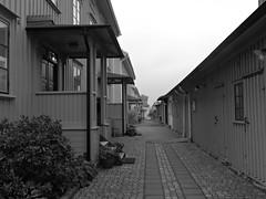 Verkmstaregatan, Lindholmen, Gteborg, 2016 (biketommy999) Tags: lindholmen gteborg sverige sweden 2016 biketommy biketommy999 svartvitt blackandwhite