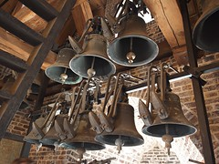 Bells of the Old Church (nisudapi) Tags: 2016 europe holland netherlands amsterdam church bell belltower churchtower oldchurch tower