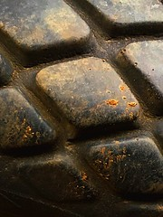 Tire Pattern (mccs_10) Tags: abstract minimalism diamondpattern black tire texture