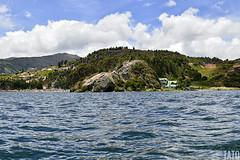 Laguna de Tota (Tato Avila) Tags: colombia boyac lagunadetota lago laguna arboles agua colores clido cielos montaas naturaleza nubes